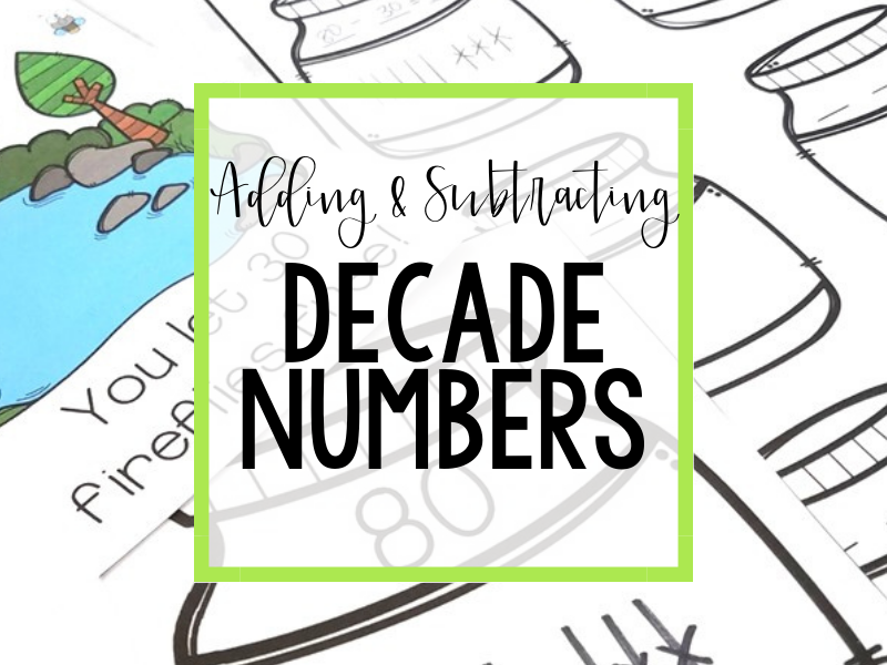 Adding and Subtracting Decade Numbers Header