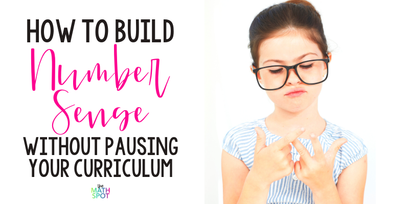 How to Build Numbersense Without Pausing Your Curriculum Blog Header